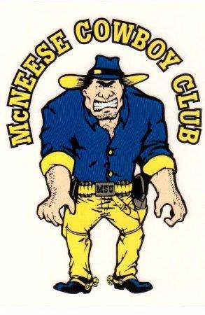 Sulphur, LA: McNeese Cowboy Club Logo