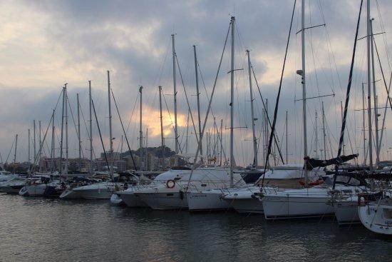Marina el Portet de Denia