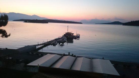 Perigiali, Greece: Sunset