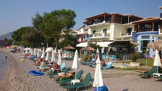 Perigiali, Greece: Private beach