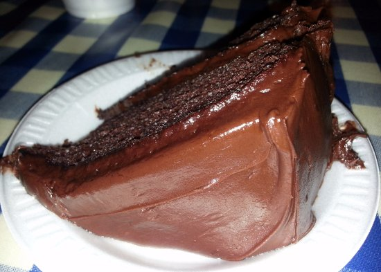 Niles, IL: chocolate cake