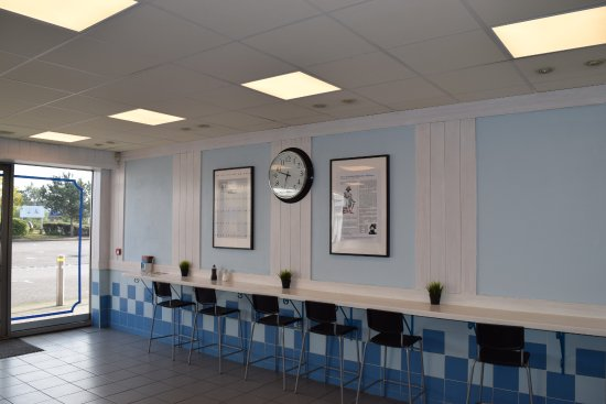 fish and chips interior design