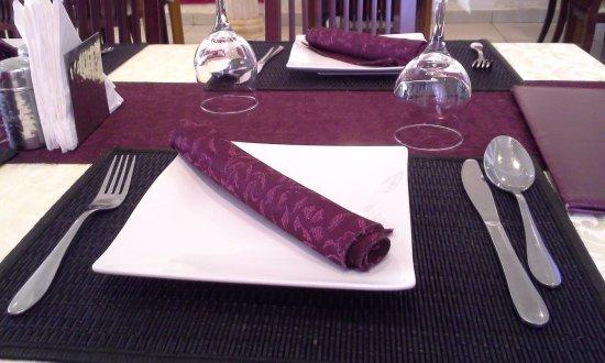Mahima Restaurant: Table decoration