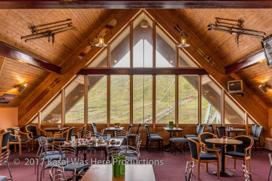 Strathdon, UK: The cafe