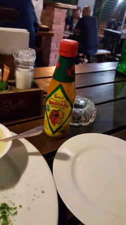 Berea, Afrique du Sud : My favourite sauce at the place.