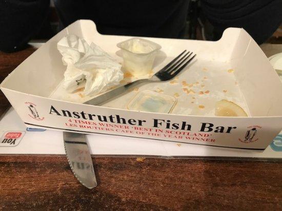 Anstruther, UK: tengo una pringuera que no me aguanto...