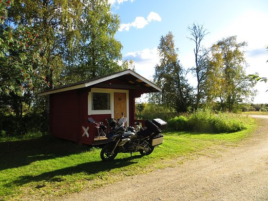 Nice place by the river Ivalojoki