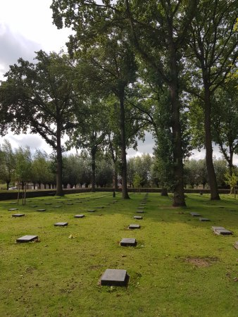 West Flanders Province, Belgien: German Cemetary at Langemark