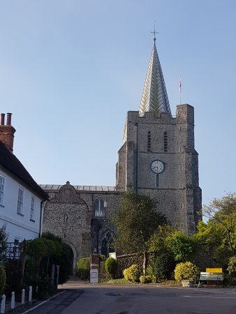 Elham, UK: At the heart of the village