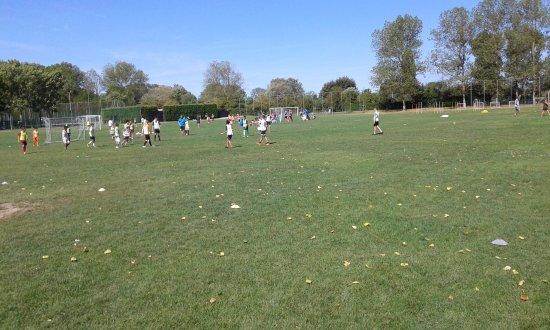 Centro Vacanze Pra delle Torri: campo da calcio, due in erba e due a 5 su cemento