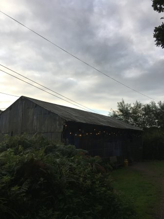 Cullompton, UK: The barn