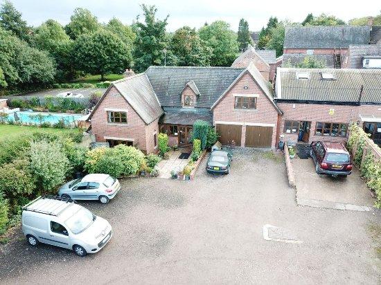 Kirby Muxloe, UK: Aerial View Sept 2017