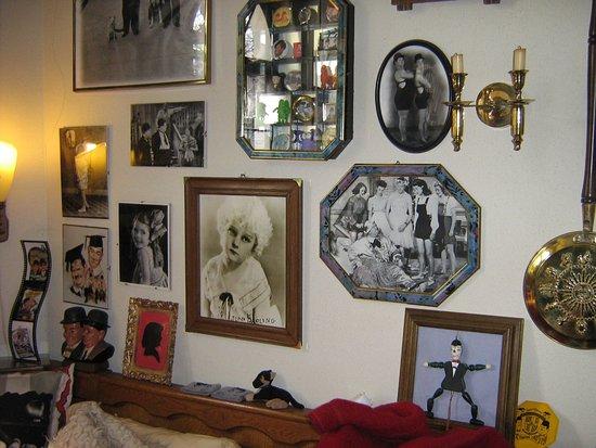 Solingen, Tyskland: Erinnerung an Jean Darling, die kleine Freundin von Stan & Ollie, sie war ein Kinderstar bei den
