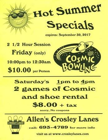 Vancouver, WA: Bowling Specials