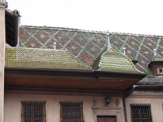 Koifhus (Ancienne douane) : Beautiful roof