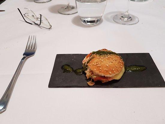 Pays de la Loire, Frankrig: Burger de brebis aux saveurs du sud