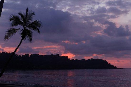 Drake Bay, Costa Rica: sunset at drake