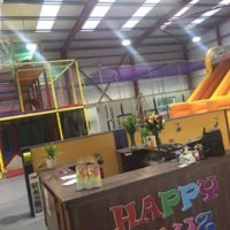 Ballygawley, UK: Fantastic Indoor Soft Play Area