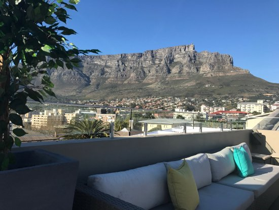 Rooftop View Of Table Mountain Picture Of Cloud Boutique Hotel - Table mountain hotel cape town