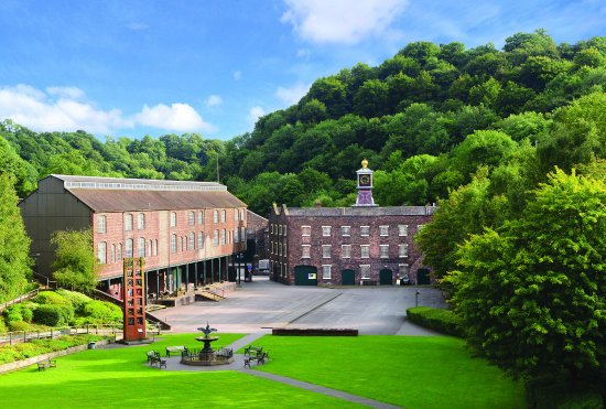 Coalbrookdale - birthplace of the Industrial Revolution