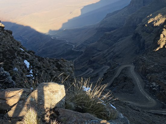 Sani Pass, Lesoto: A lot of curves