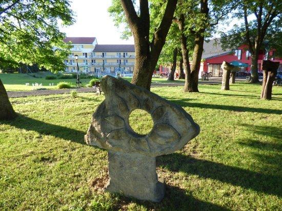 Hokovce, Slowakei: Hotelový park