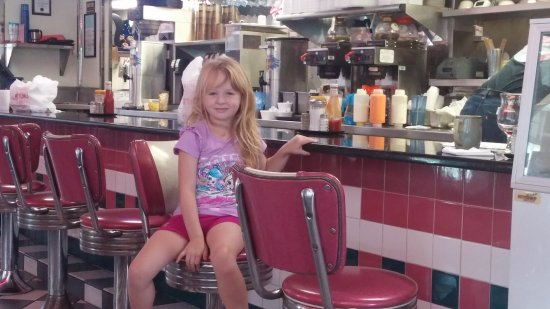 The Diner: Love the classic counter