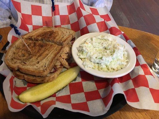 Marietta, OH: Reuben and coleslaw