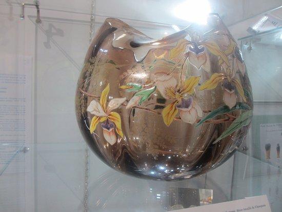 Soreze, Γαλλία: Un vase en verre sublime!