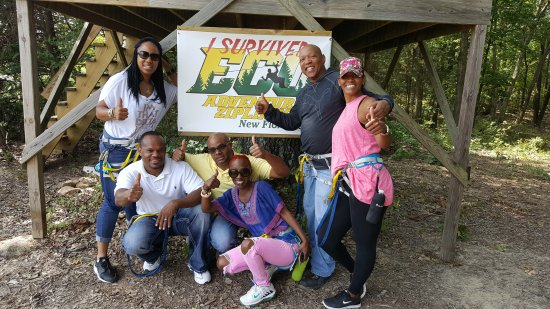 New Florence, MO: Eco Zipline Tours