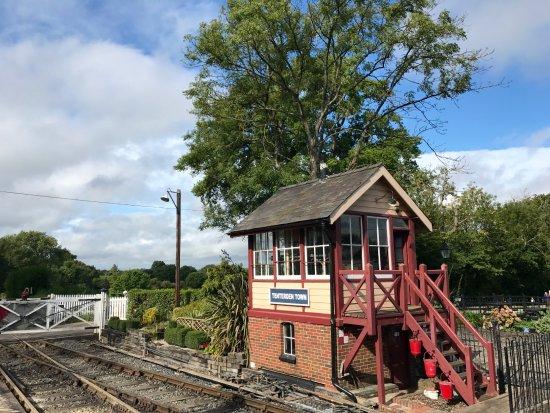 Tenterden, UK: Steam Train
