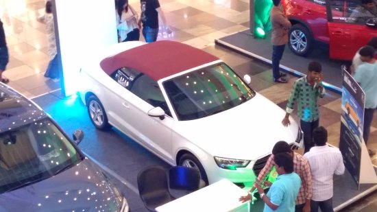 Forum mall auto expo 2017 - Picture of The Forum Sujana Mall