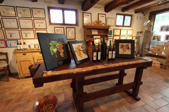 Dolegna del Collio, อิตาลี: sala di degustazione
