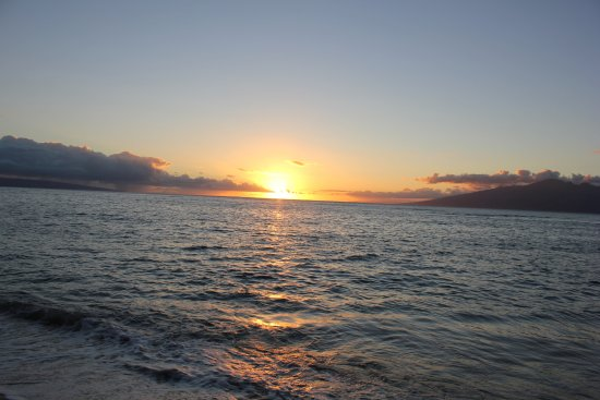 Sunset @Makena Beach