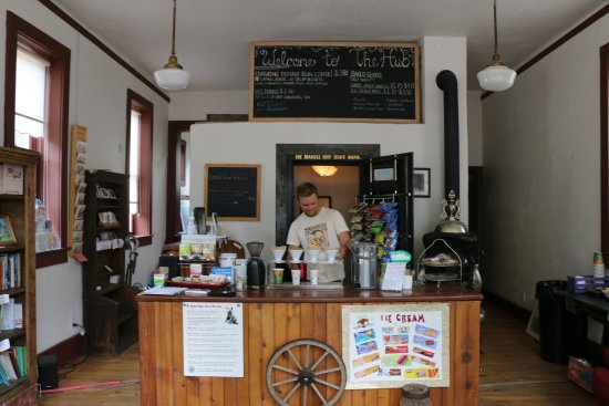 Marble, Colorado: Great place to get a delicious cup of coffee and friendly conversation.  