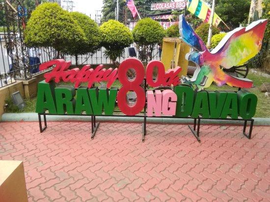 Davao City, Filippijnen: 丁度イベントでした。
