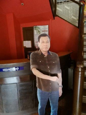Davao City, Filippijnen: 元ダバオ市長。現大統領です。