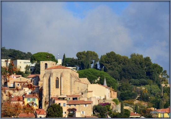 Iles d'Hyeres, France: Plein soleil sur St.Paul