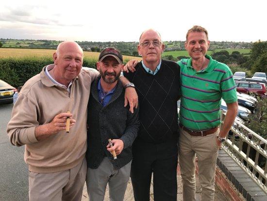 Derbyshire, UK: Our foursome
