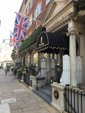 The Goring: outside