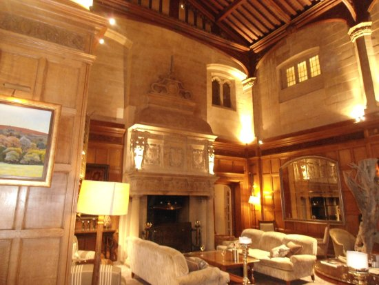 Bovey Castle Hotel: One of the lounges.
