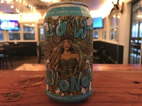 Scottsboro, Алабама: Salty Nut Brewery's Hawt Blonde is a light and refreshing American blonde ale.