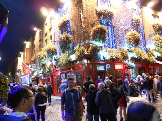 Photo of The Temple Bar Pub in Dublin, , IE