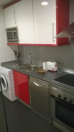 Prado Apartamentos : Кухня