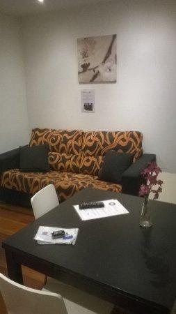 Prado Apartamentos : Гостиная