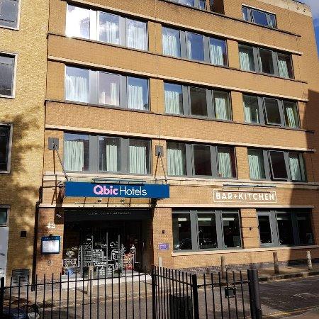20170824 104050 picture of qbic hotel london for Design hotel qbic