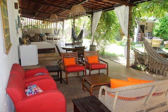 Guajiru, CE: Área comum para os hóspedes