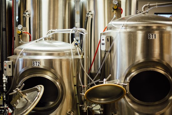 Essex, VT: Awesomeness is made in these stainless steal tanks!