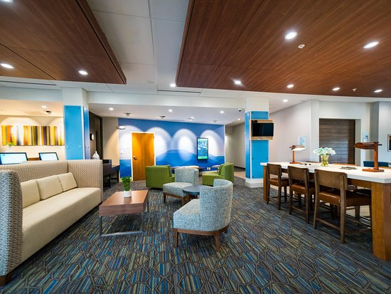 Holiday Inn Express Amp Suites Lobby Area Picture Of