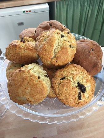 Bexhill-on-Sea, UK: Visit the old town tearoom for delicious homemade scones and cakes. Light lunches served mon -sa